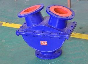 Трёхходовой автоматический реверсивный клапан