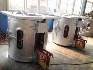 Индукционная печь для плавки черных металлов серии LGUW