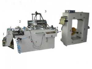 Станок трафаретной печати на рулонных материалах WQ-320
