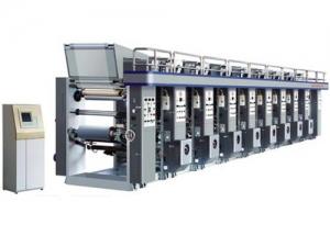 Ротационная печатная машина на рулонных материалах YAD-B1-800/1100