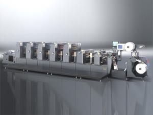 Станок офсетной печати для производства этикеток ZX-320