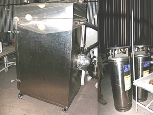 Холодильник шоковой заморозки б/у - Cryogenic SD 100L